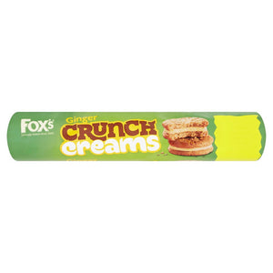 Fox's Ginger Crunch Creams 16x230g [Regular Stock], Fox's, Biscuits/Crackers- HP Imports