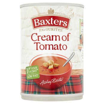 Baxters Cream of Tomato Soup 12x380g [Regular Stock]