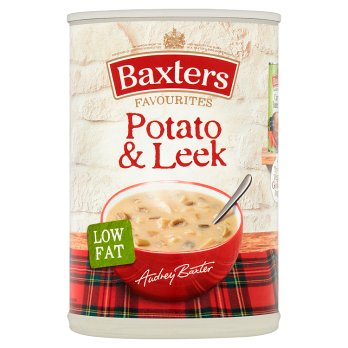 Baxters Favourites Potato & Leek Soup 12x400g [Regular Stock], Baxters, Soups- HP Imports