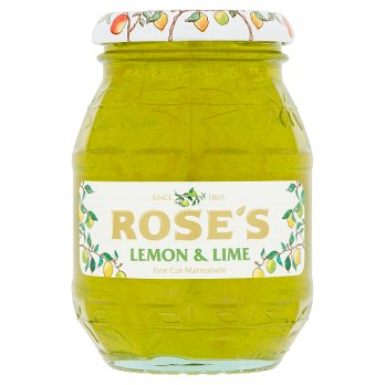 Roses Lemon & Lime Marmalade 6*454g [Regular Stock], Jams/Marmalade/Spread, Rose's, [variant_title],HP Imports British Wholesale Distribution