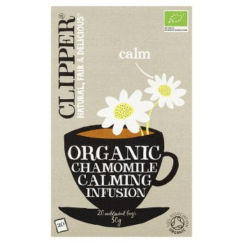 Clipper Organic Chamomile Tea 6x20x30g [Regular Stock]