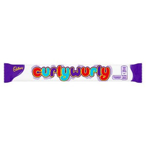 Cadbury Curly Wurly 48x26g [Regular Stock], Cadbury, Chocolate Bar/Bag- HP Imports