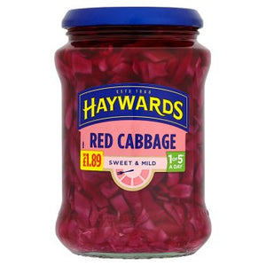 Hayward's Sweet Mild Red Cabbage (PM) 6x400g [Regular Stock], Hayward's, Vegetables- HP Imports
