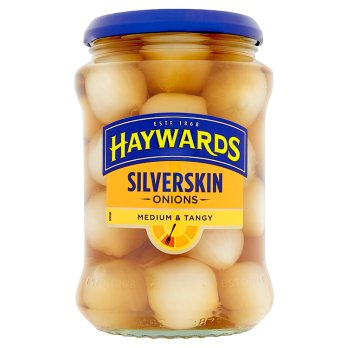 Hayward's Silverskin Onions Med/Tangy 6x400g [Regular Stock], Hayward's, Vegetables- HP Imports