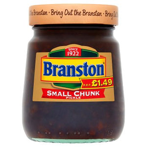 Branston Small Chunk Pickle (PM) 6x280g [Regular Stock], Branston, Table Sauces- HP Imports