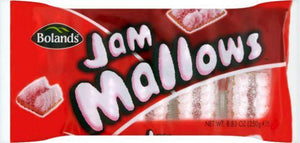 Bolands Jam Mallows (PM) 18x250g [Regular Stock], Bolands, Biscuits/Crackers- HP Imports