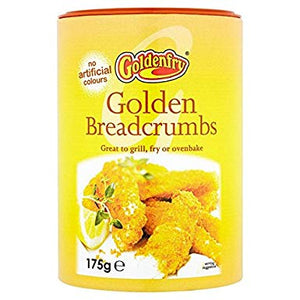 Golden Fry Golden Breadcrumbs 6x175g [Regular Stock], GoldenFry, Cooking Aids/Sauces/Mixes- HP Imports