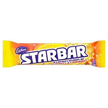Cadbury Starbar 32x49g [Regular Stock], Cadbury, Chocolate Bar/Bag- HP Imports