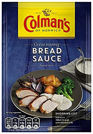 Colman's Bread Sauce Mix 16*40g (PM) [Regular Stock], Cooking Aids/Sauces/Mixes, Colman's, [variant_title],HP Imports British Wholesale Distribution