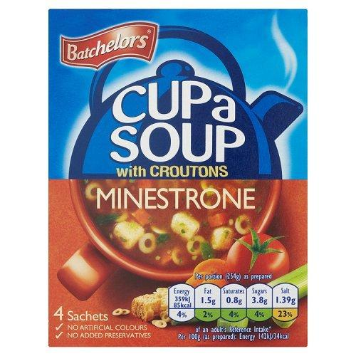 Batchelors Cup A Soup Minestrone With Croutons 4PK 9x94g [Regular Stock], Batchelors, Soups- HP Imports