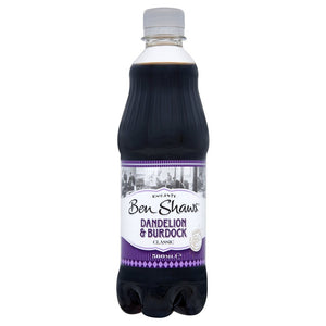 Ben Shaw's Dandelion & Burdock 12x500ml [Regular Stock], Ben Shaws, Pop Cans- HP Imports