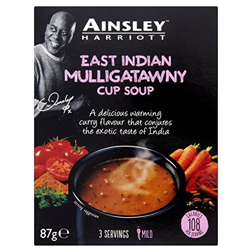 Ainsley Harriott East Indian Mulligatawny Cup Soup (PM) 12x87g [Regular Stock], Ainsley Harriot, Soups- HP Imports