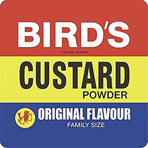 Birds Custard Powder Tub 12x300g [Regular Stock], Birds, Desserts- HP Imports
