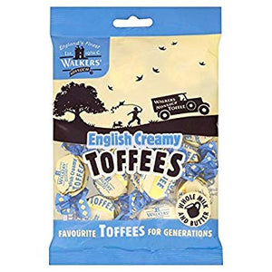 Walkers Original English Creamy Toffee Bags 12x150g [Regular Stock], Walkers, Bagged Candy- HP Imports