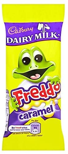 Cadbury Dairy Milk Freddo Frogs Caramel 30x97.5g [Regular Stock]