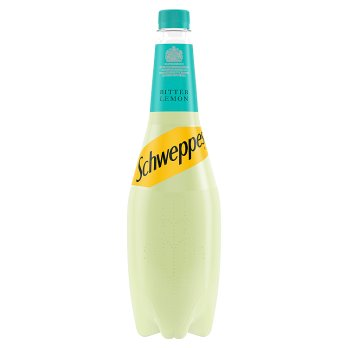 Schweppes Bitter Lemon 6x1L [Regular Stock], PepsiCo, Drinks- HP Imports