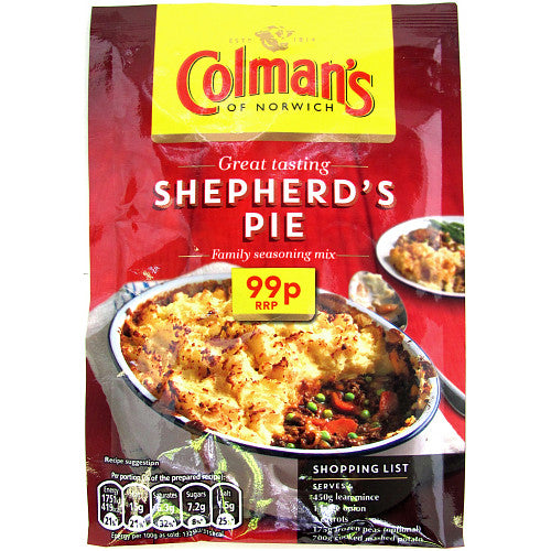 Colmans Shepherd's Pie Mix (PM) 10x50g [Regular Stock]