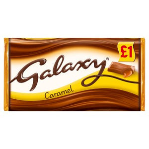 Mars Galaxy Caramel Large Block (PM) 24x135g [Regular Stock], Mars, Chocolate Bar/Bag- HP Imports