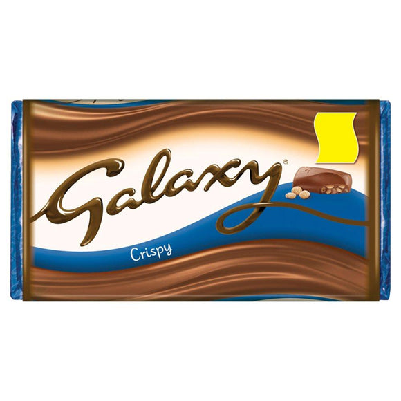 Mars Galaxy Crispy Bar (PM) 24x102g [Regular Stock], Mars, Chocolate Bar/Bag- HP Imports
