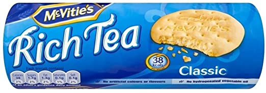 McVitie's Rich Tea Classic 24x200g [Regular Stock]