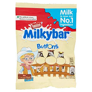 Nestle Milkybar Buttons Bag 48*30g [Regular Stock], Chocolate Bar/Bag, Nestle, [variant_title],HP Imports British Wholesale Distribution