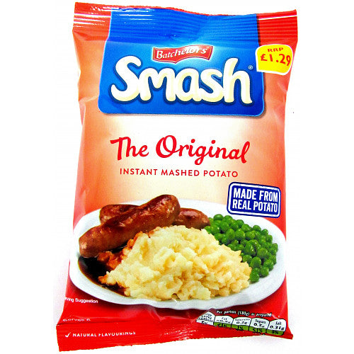 Batchelors Smash Original Instant Mashed Potatoes (PM) 6x176g [Regular Stock]