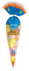 Frisia UFOs Flying Saucer Cone Bags 42x45g [Regular Stock], Frisia, Bagged Candy- HP Imports