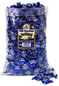 Walker's Milk Chocolate Covered Toffees 2.5kg [Regular Stock], Walkers, Bulk Candy- HP Imports