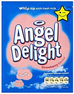 Angel Delight Strawberry 21*59gm [Regular Stock], Desserts, Angel Delight, [variant_title],HP Imports British Wholesale Distribution