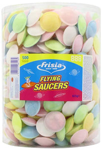 Frisia UFO Flying Saucers 625g Pack of 500 [Regular Stock], Frisia, Bagged Candy- HP Imports