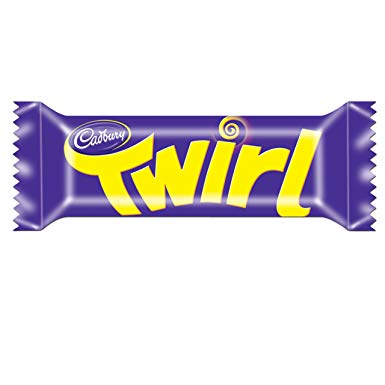 Cadbury Twirl Bar 48x43g [Regular Stock], Cadbury, Chocolate Bar/Bag- HP Imports