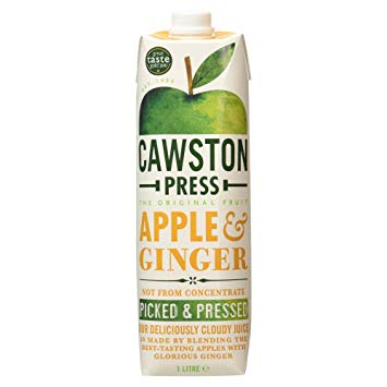 *Cawston Press Apple & Ginger 6*1L [Pre-Order Stock], Drinks, Cawston Press, [variant_title],HP Imports British Wholesale Distribution