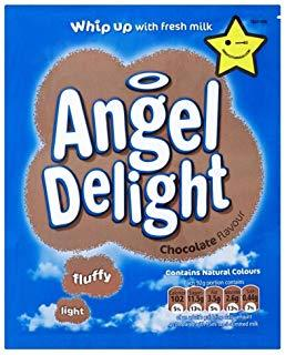 Angel Delight Chocolate 21*59gm [Regular Stock], Desserts, Angel Delight, [variant_title],HP Imports British Wholesale Distribution