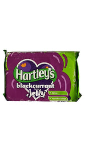 Hartley's Blackcurrant Flavour Jelly Blocks 12x135g [Regular Stock], Hartley's, Desserts- HP Imports