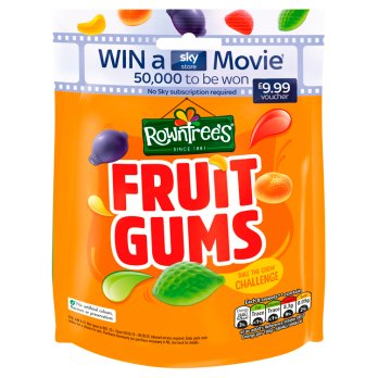 Rowntree's Fruit Gums Bag 10x150g [Pre-Order Stock], Rowntrees, Bagged Candy- HP Imports