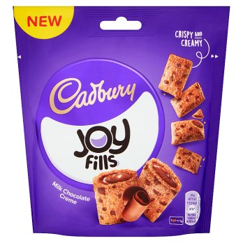 Cadbury Joy Fills Milk Chocolate Cookies 8x90g [Regular Stock], Cadbury, Biscuits/Crackers- HP Imports