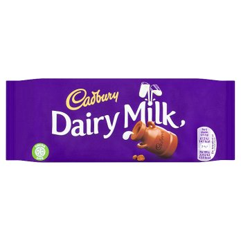 Cadbury Dairy Milk Chocolate Bar 21x110g [Regular Stock], Cadbury, Chocolate Bar/Bag- HP Imports
