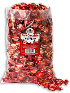 Walker's Dark Chocolate Covered Toffees 2.5kg [Regular Stock], Walkers, Bulk Candy- HP Imports