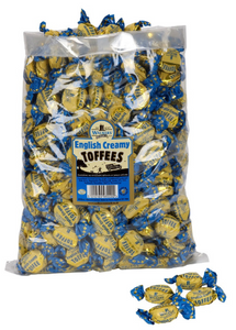 Walker's English Creamy Toffees (original) 2.5kg [Regular Stock], Walkers, Bulk Candy- HP Imports
