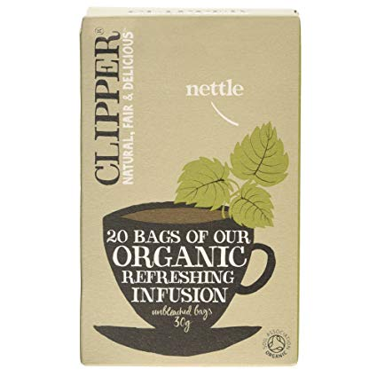 *Clipper Organic Refreshing Infusion Nettle Herb Tea 6*20s [Regular Stock], Drinks, Nettle, [variant_title],HP Imports British Wholesale Distribution