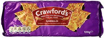 Crawford Garibaldi Biscuits 12x100g [Regular Stock], Crawford, Biscuits/Crackers- HP Imports