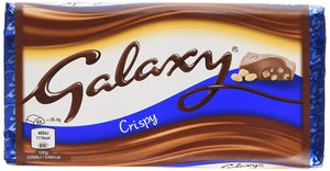 Mars Galaxy Crispy Bar 24x102g [Regular Stock], Mars, Chocolate Bar/Bag- HP Imports