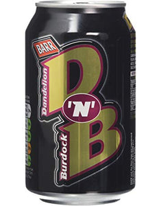 Barr's Dandelion & Burdock (PM) 24x330ml [Regular Stock], Barr's, Pop Cans- HP Imports
