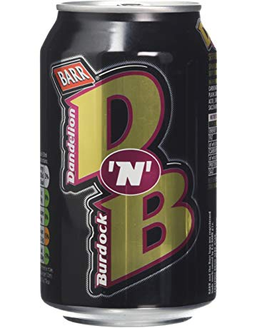 Barr Dandelion & Burdock Cans (PM) 24*330ml [Regular Stock], Pop Cans, Barr's, [variant_title],HP Imports British Wholesale Distribution