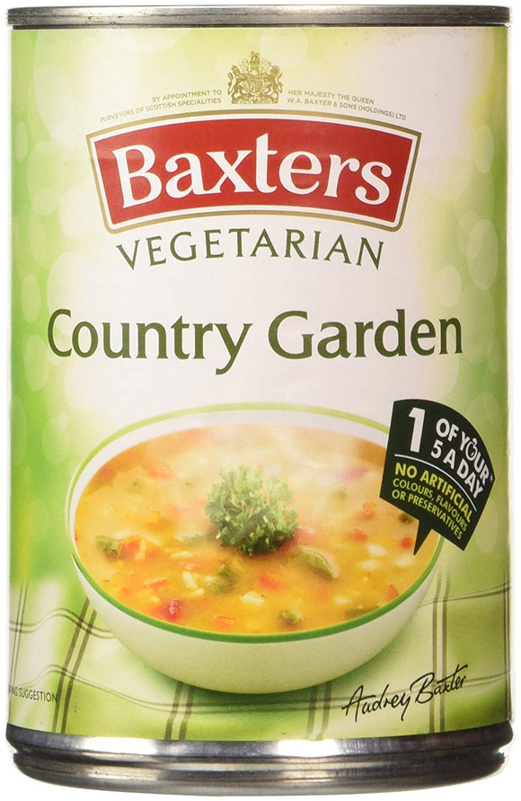 *Baxters Vegetable Country Garden Soup 12*400g [Regular Stock], Soups, Baxters, [variant_title],HP Imports British Wholesale Distribution