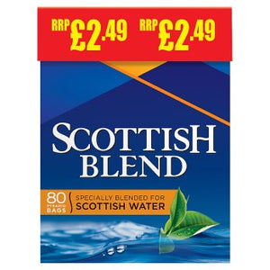 Scottish Blend Tea Bags (PM) 6x80's [Regular Stock], Brooke Bond, Drinks- HP Imports