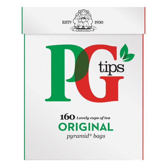 PG Tips Original Tea Bags (PM) 4*160s [Regular Stock], Drinks, PG Tips, [variant_title],HP Imports British Wholesale Distribution