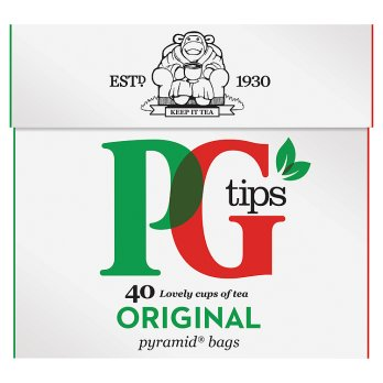PG Tips Original 12x40's [Regular Stock], PG Tips, Drinks- HP Imports