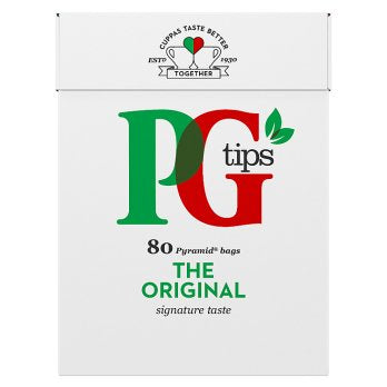 PG Tips Teabags 12x80's [Regular Stock], PG Tips, Drinks- HP Imports