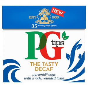 PG Tips Decaf Teabags 6x35's [Regular Stock]